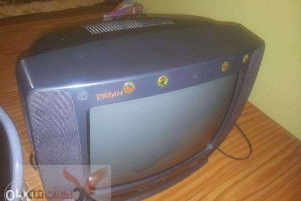 للبيع تليفزيون جولدى ممتاز 100%