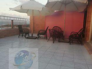 شقة للايجار مفروش – المندرة-الدور١٥-رؤية واضحة للبحر -للأسر فقط