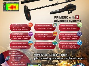best gold and metal detectors | Primero Ajax