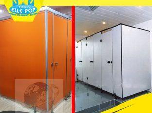 احدث ديكورات حمامات كومباكت HPL 2020 قواطيع