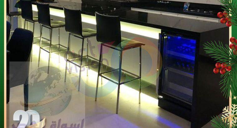 بار مطاعم كوريان – رخام صناعي