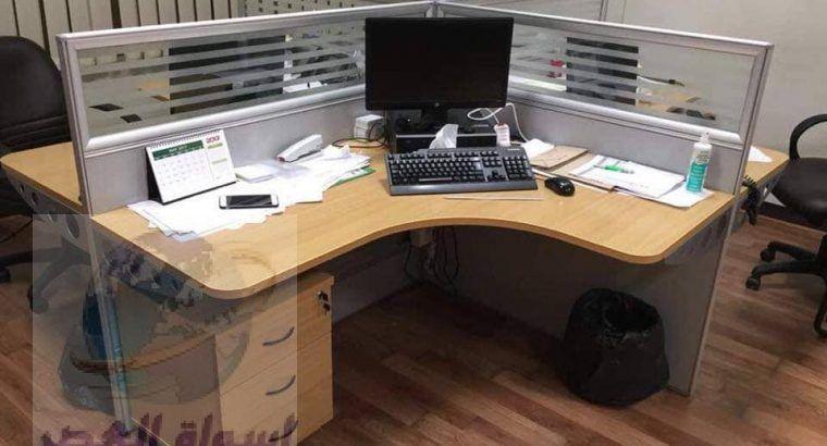 أثاث مكتبى مكاتب كراسى أنتريهات أثاث شركات من مهنا