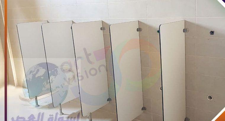 اوشاش وقواطيع حمامات hpl