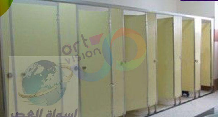 قواطيع حمامات كومباكت HPL – فواصل مباول