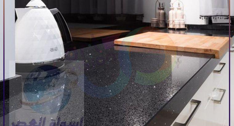 اسطح مطابخ رخام صناعي
