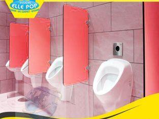 قواطيع حمامات كومباكت hpl