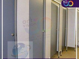 قواطيع حمامات – فواصل مباول hpl النزهة الجديدة