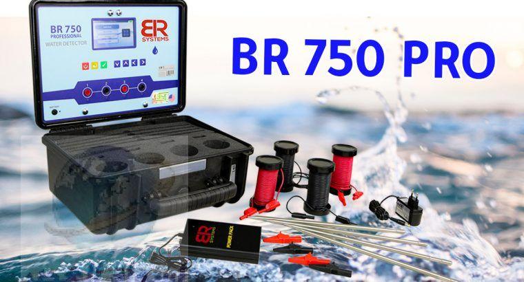 جهاز كشف المياه الجوفيه الجيوفيزيائي BR750 PRO